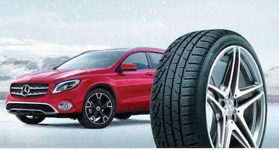 Instantly with purchase four eligible winter wheel and tire assemblies