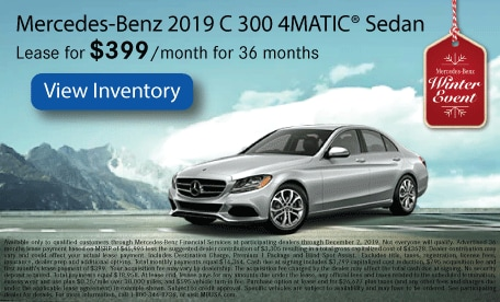 Mercedes-Benz 2019 C 300 4MATIC® Sedan