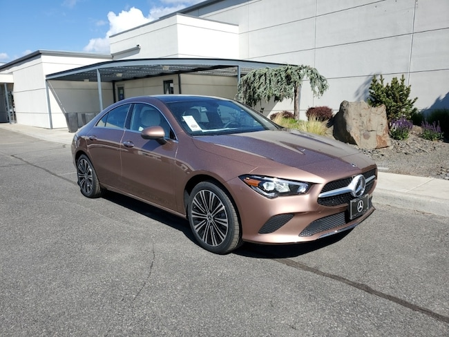 New 2021 Mercedes-Benz CLA 250 4MATIC Coupe for Sale in Kennewick, WA