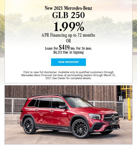 New 2021 Mercedes-Benz GLB 250