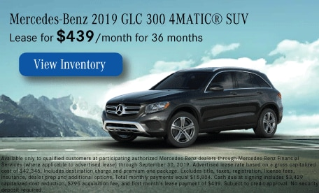 Mercedes-Benz 2019 GLC 300 4MATIC® SUV