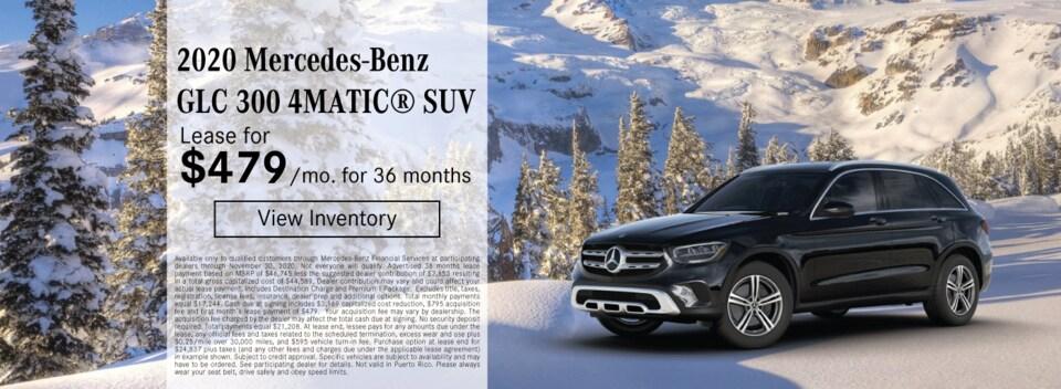 2020 Mercedes-Benz GLC 300 4MATIC® SUV