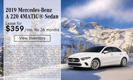 2019 Mercedes-Benz A 220 4MATIC® Sedan