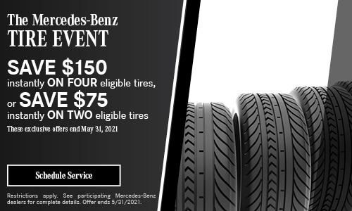 The Mercedes-Benz Tire Event- April Offer