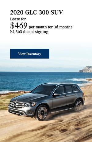 2020 GLC 300 SUV - October Offer