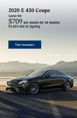 2020 E 450 Coupe - October Offer