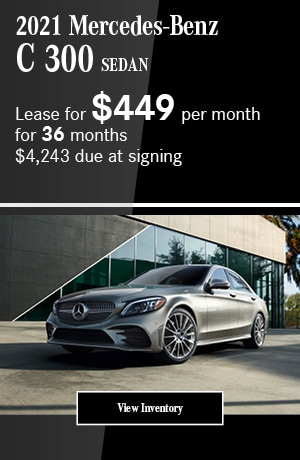 2021 Mercedes-Benz C 300 Sedan- April Offer