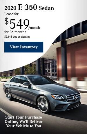 2020 E 350  Sedan - May Offer