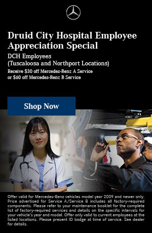 Druid City Hospital Employee Appreciation Special
