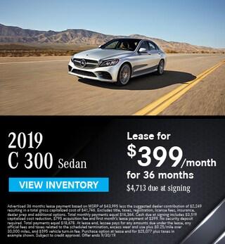 2019 C 300 Sedan - September Offer