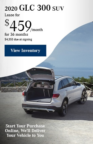 2020 GLC 300 SUV - May Offer