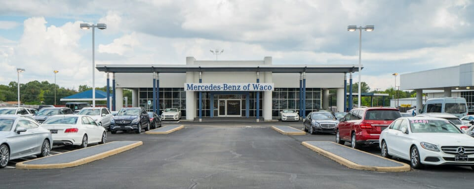 Exterior view of Mercedes-Benz of Waco