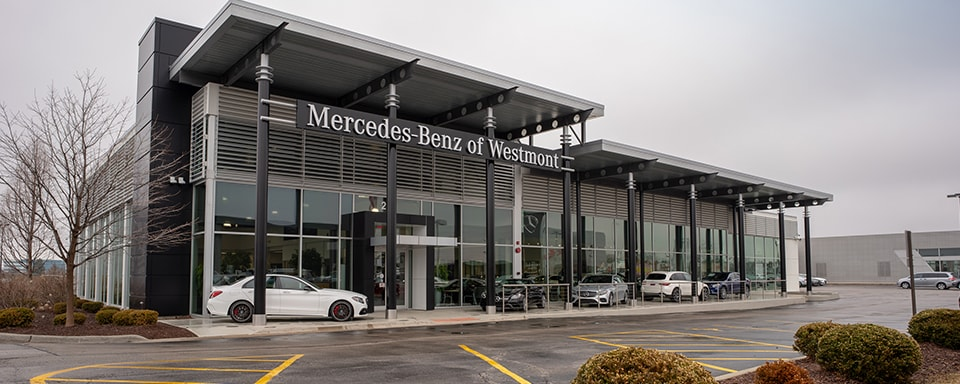 Outside view of Mercedes-Benz of Westmont