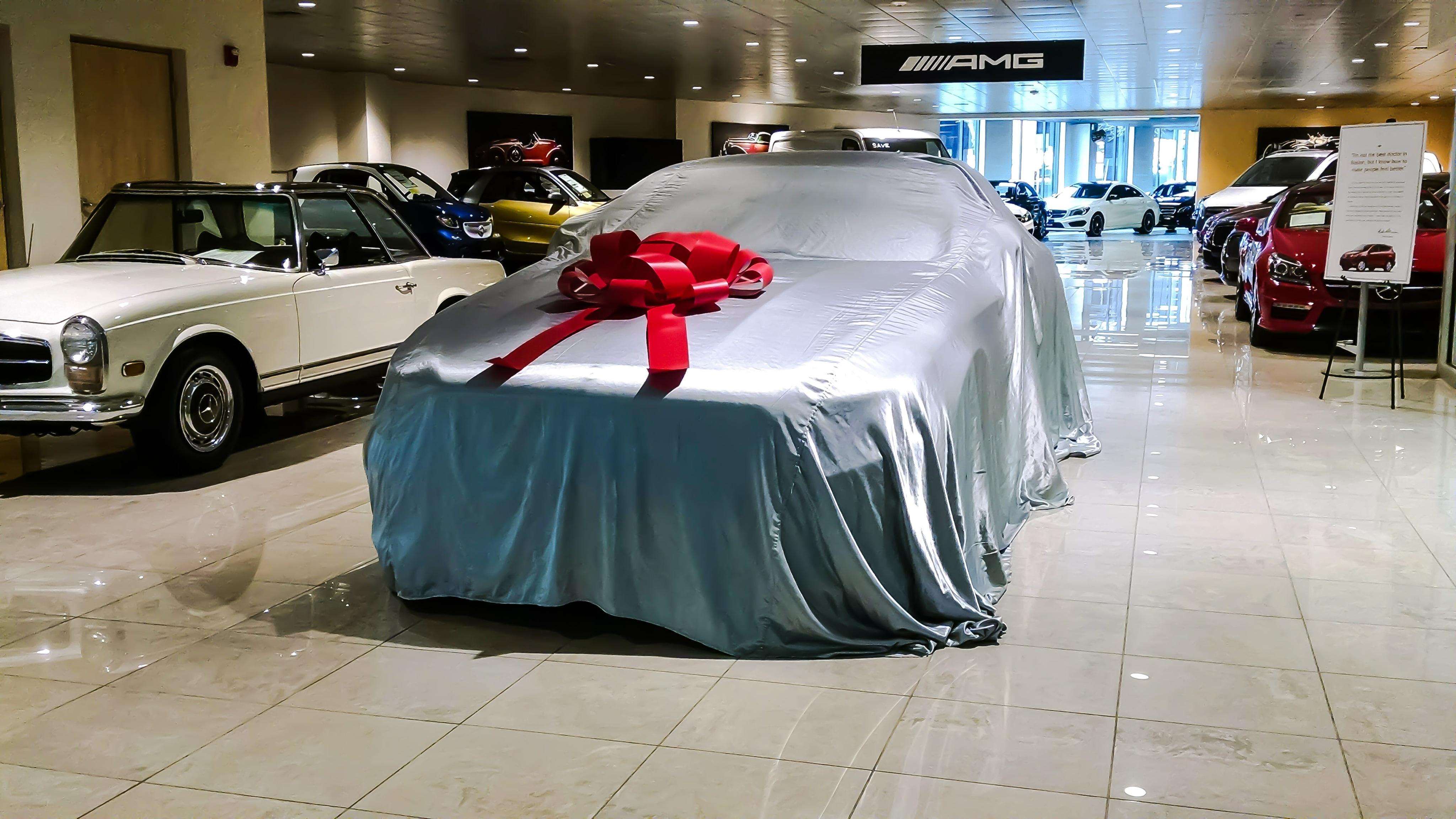 Your New Mercedes Benz ...