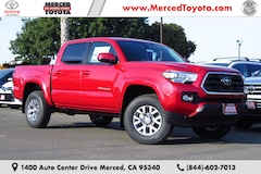New 2019 Toyota Tacoma SR5 V6 Truck Double Cab 3TMAZ5CN5KM082225 for sale in Merced, CA