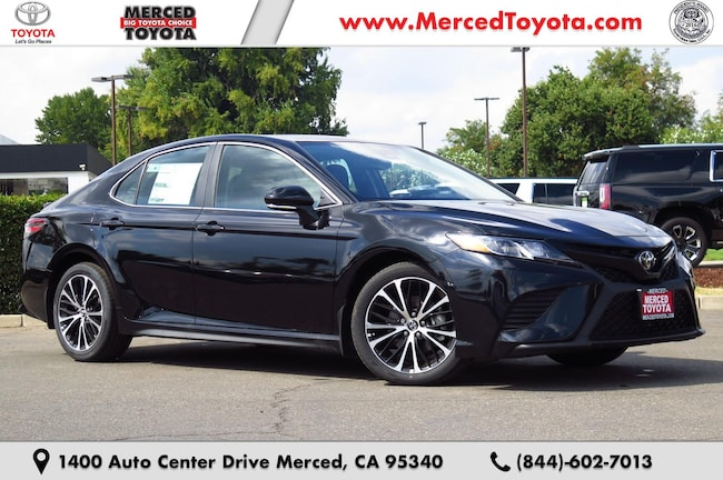 New 2019 Toyota Camry SE Sedan 4T1B11HK2KU161586 for sale in Merced, CA