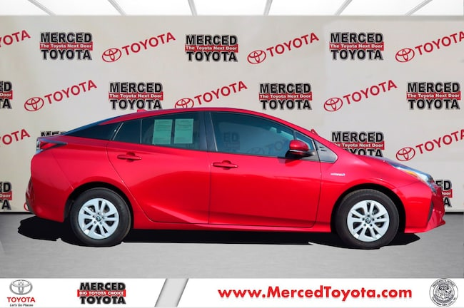 Certified Pre-Owned 2017 Toyota Prius Hatchback for sale in Merced, CA