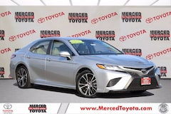 Certified Pre-Owned 2018 Toyota Camry SE Sedan for sale in Merced, CA