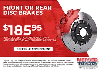 Front or Rear Disc Brakes