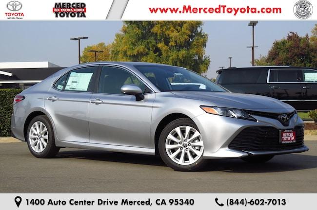 New 2019 Toyota Camry LE Sedan 4T1B11HK1KU700957 for sale in Merced, CA