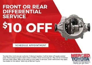 Front or Rear Differential Service
