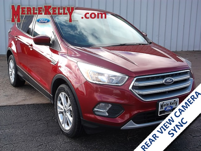 Used 2017 Ford Escape SE I4 2L EcoBoost 4WD SUV / CROSSOVER in Chanute, KS