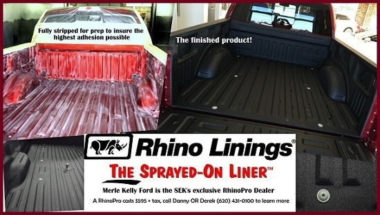 Rhino Truck Bed Liner >> Rhinopro Truck Bed Liner At Merle Kelly Ford Merle Kelly Ford