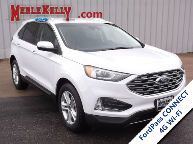 New 2019 Ford Edge SEL V4 Twin EcoBoost AWD SUV / CROSSOVER in Chanute, KS