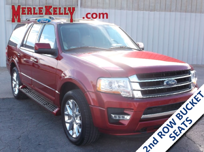 Used 2017 Ford Expedition Limited 4x4 V6 3.5L EcoBoost SUV in Chanute, KS