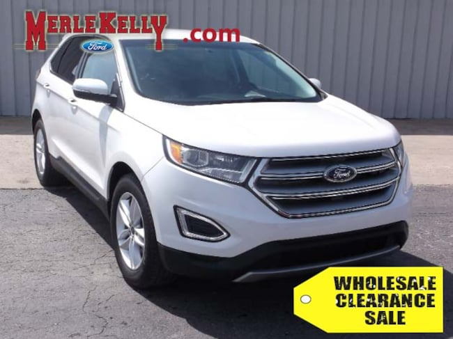 Used 2015 Ford Edge SEL V6 3.5L SUV / CROSSOVER in Chanute, KS