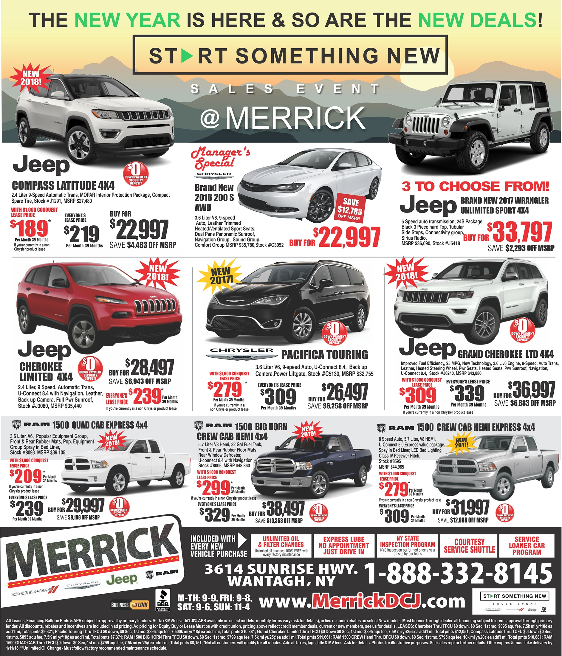 Merrick Used Cars New Car Release Information