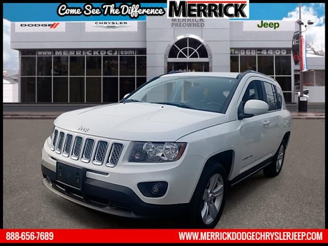 Certified Pre-owned 2016 Jeep Compass 4WD  Latitude Sport Utility For Sale in Wantagh, NY