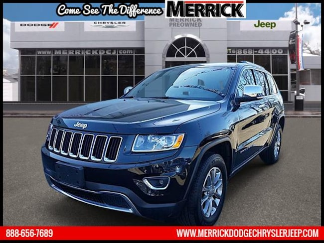 Certified Pre-owned 2015 Jeep Grand Cherokee 4WD  Limited Sport Utility For Sale in Wantagh, NY