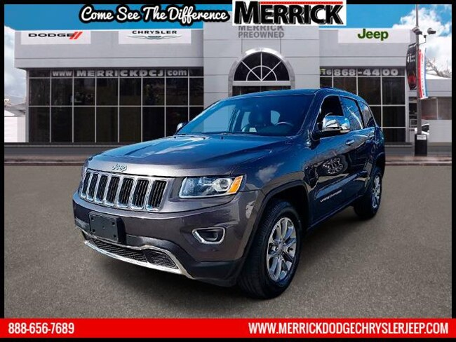 Certified Pre-owned 2016 Jeep Grand Cherokee 4WD  Limited Sport Utility For Sale in Wantagh, NY