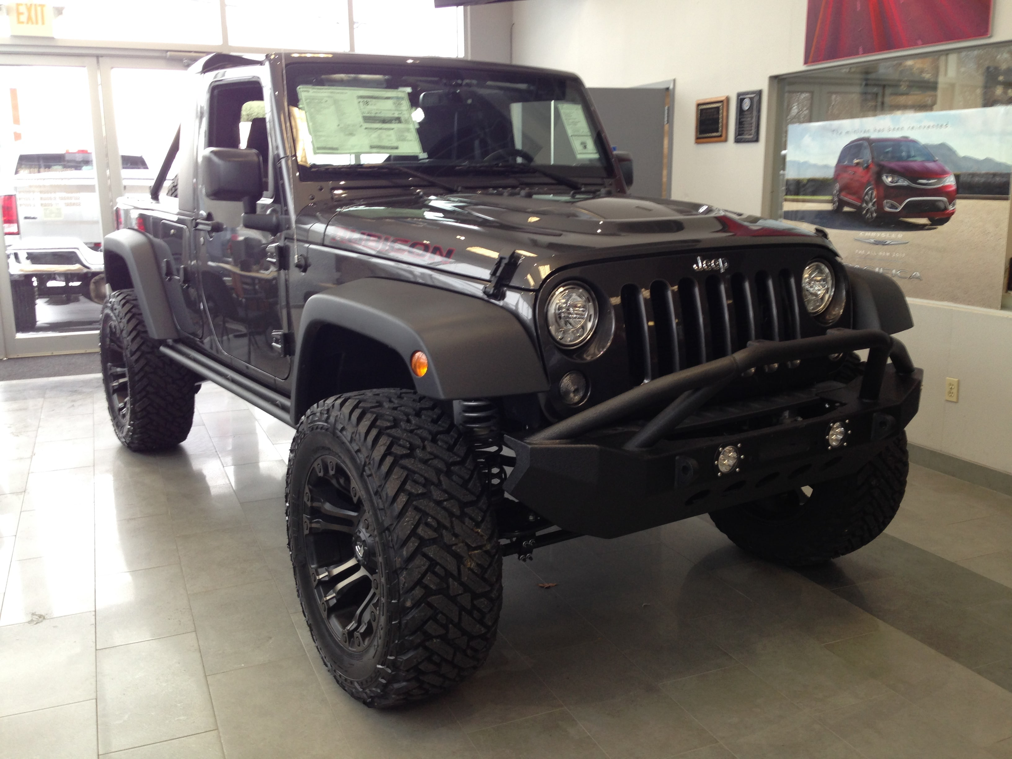 2017 Jeep Wrangler JK UNLIMITED RUBICON HARD ROCK 4X4 Sport Utility