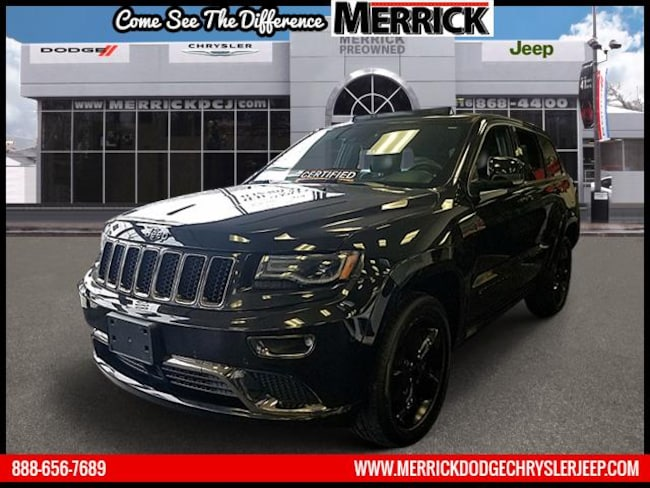 Certified Pre-owned 2016 Jeep Grand Cherokee 4WD  High Altitude Sport Utility For Sale in Wantagh, NY