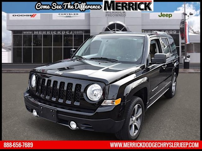 Certified Pre-owned 2016 Jeep Patriot 4WD  Latitude Sport Utility For Sale in Wantagh, NY
