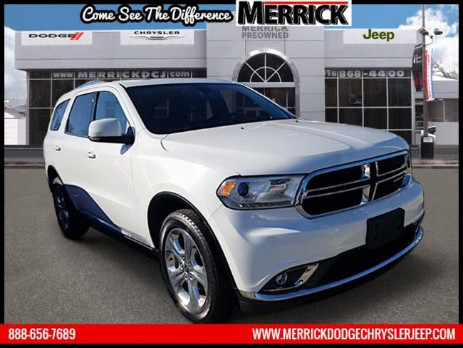 Certified Pre-owned 2015 Dodge Durango AWD  Limited Sport Utility For Sale in Wantagh, NY