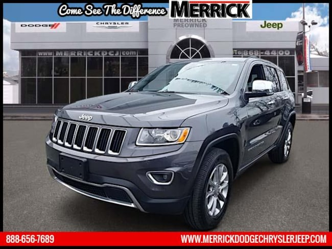 Used 2016 Jeep Grand Cherokee 4WD  Limited Sport Utility For Sale in Wantagh, NY