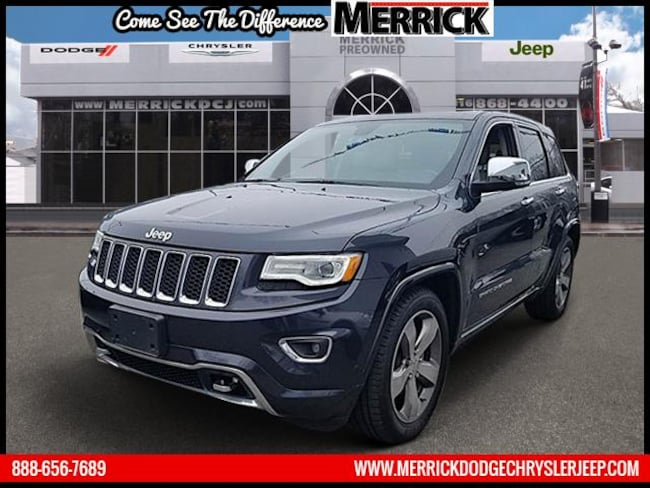 Used 2016 Jeep Grand Cherokee 4WD  Overland Sport Utility For Sale in Wantagh, NY