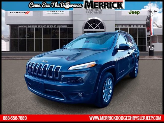 Certified Pre-owned 2016 Jeep Cherokee 4WD  Limited Sport Utility For Sale in Wantagh, NY