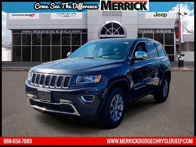 Used 2015 Jeep Grand Cherokee 4WD  Limited Sport Utility For Sale in Wantagh, NY