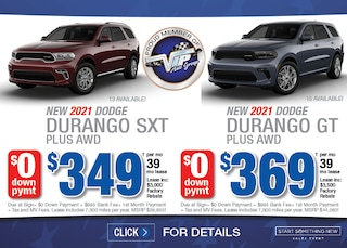 Dodge Durango Deals - January 2021
