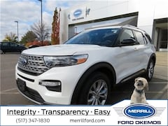 New 2020 Ford Explorer Limited SUV For Sale in Okemos, MI