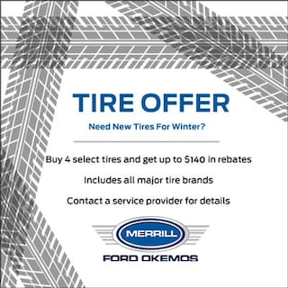 Tire Offer - Up To $140 In Rebates