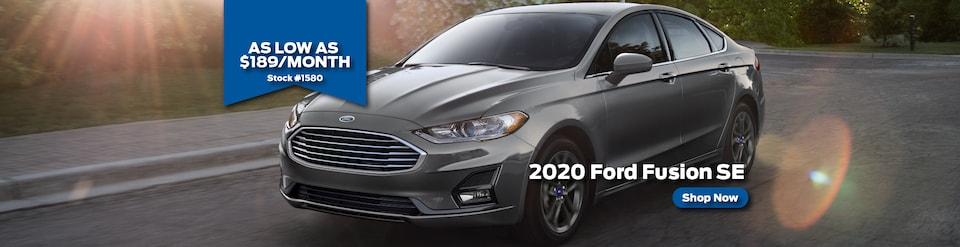 2020 Ford Fusion Lease for $189/month