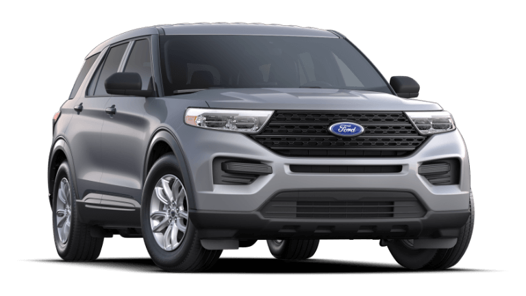 2021 Ford Explorer Base Iconic Silver