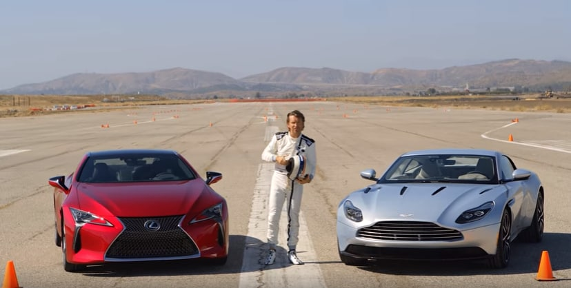 2018 Lexus LC 500 and Aston Martin DB11