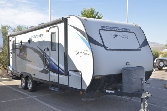 2015 Pacific Coachworks T25RKS Panther RV Trailer RV