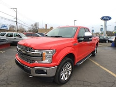 Used 2018 Ford F-150 Lariat Truck 1FTEX1EP5JFA01155 for sale at Metro Ford Sales and Service in Chicago